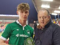 Oran Daly (Greenwood) CSL Joma/Sportsgear Direct U16 Cup Final Man of the Match