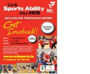 Cork Sports Ability Day April 18