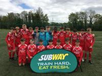 Congrats to the Blackwater Motors sponsored Cork U12s who qualified for the SFAI Subway Championship All Ireland Final