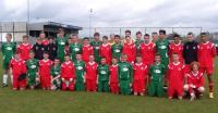 Cork U14 & Lommel Squads