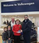 Congrats to Patryk Swieczka (Leeside) who is the CSL Blackwater  Motors U12 January Player of the Month