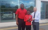 Congrats to Denzil Obenge (Mallow Town) - the CSL Blackwater Motors U12 Player of the Month for March