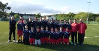 Roy Keane visits Cork Kennedy Cup Squad training