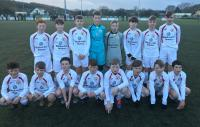 The Blackwater Motors sponsored Cork United U12s who played Cork Athletic