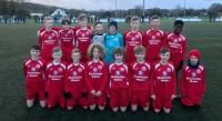 The Blackwater Motors sponsored Cork Athletic U12s who played Cork United