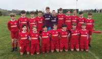 The Cork U13 Squad who beat West Cork in Skibbereen in the SFAI Subway Championship