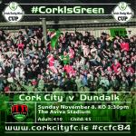 Best of luck to Cork City on Sunday