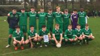 Greenwood U16s in SFAI Skechers Nat Cup last 16 action away to St. Kevin's Boys (ND) in Dublin