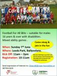Cork Football for All Blitz Jun 7 Leeds Park