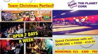 Why not have your Team Christmas Parties at the Planet - our CSL website sponsor