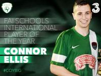 Conor Ellis Schools International Player of the Year