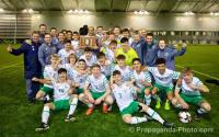 Irish U16s win Victory Shield
