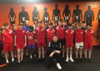 Great to see the Cork Kennedy Cup Squad on strength and fitness in Dennehy's Ballincollig with trainer Alex Brown
