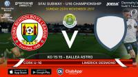 Best of luck to Joma / Sportsgear Direct sponsored Cork U16s v Limerick Desmond