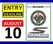 SFAI Skechers National Cups - Entry Deadline Aug 10