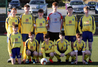 Douglas Hall U15s through to the semi final of the SFAI SKECHERS National Cup