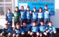 Avondale team v Leeds in Skechers U14D1 game
