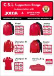 SportsGear Direct launches Joma CSL Supporters range