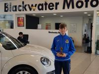 Ryan Delaney (Carrigaline United) - CSL BLACKWATER MOTORS U12 Player of the Month for February