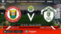 Best of luck to the Joma / Sportsgear Direct sponsored Cork U16s at home to Kerry in Ballea