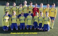 Douglas Hall U12 Premier Squad 2014/15