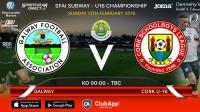 Best of luck to the Joma/Sportsgear Direct Cork U16s away to Galway in the Subway Championship All Ireland Semi