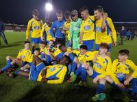 Carrigaline United U15 Dennehy's Health & Fitness Cup Winners