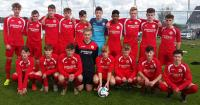 Cork U16s who beat South Tipperary 6-0