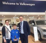 Congrats to Matthew Moore (Carrigaline United) - The CSL Blackwater Motors U12 Player of the Month for February