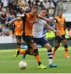 David Meyler (Hull and Corinthians) & Alan Browne (Preston and Ringmahon)