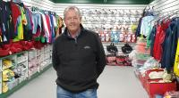 Best wishes to Adrian Ryan Sports Gear Direct in his new shop premises