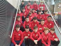 The Dennehy's Health & Fitness sponsored Cork U15 Squad who flew out to the UK today