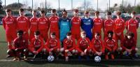 The Cork U16 Squad who beat Clare in the SFAI Subway Championship in Moneygourney