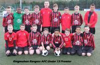 Ringmahon Rangers U13 Premier Squad 2014/15