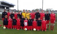 Cork U14 Squad in Lommel this morning