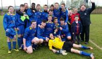Carrigtwohill United Umbro U16 Division 3 Champions