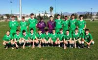 Irish U15 Squad v Holland in Turkey