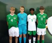Best of luck to Roy, Ryan, Franco and Liam training with Irish Squad