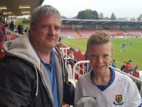Adam Costello (Carrigaline United) CSL Oriel House Hotel U13 Cup Final Man of the Match