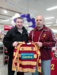Tramore Athletic receive club jerseys
