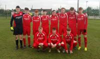 Cork U16s who defeated WWEC in the SFAI SUBWAY CHAMPIONSHIP