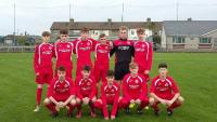 Cork U16s who lost 3-1 to Waterford in the SFAI SUBWAY CHAMPIONSHIP