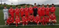 The JOMA & SPORTS GEAR DIRECT Cork U16 Squad who beat Waterford 4-1 in the SFAI SUBWAY Championship