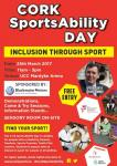 Cork Sports Ability Day on March 25 sponsored by Blackwater Motors