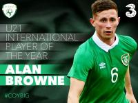 Alan Browne U21 International Player of the Year