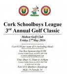 CSL Golf Classic Mahon GC 27th May 2016