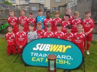 The Blackwater Motors sponsored Cork U12s - SFAI Subway Munster Champions