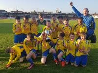Carrigaline United U12 Blackwater Motors Cup Winners