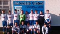 Leeds team away v Avondale in Skechers U14D1