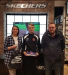 Dylan O'Halloran (Midleton) the CSL Skechers January U14 Player of the Month